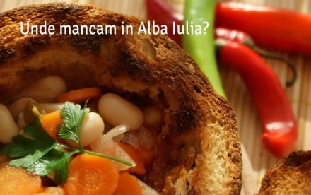 Mancare in Alba Iulia