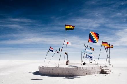 Salar de Uyuni, din Bolivia