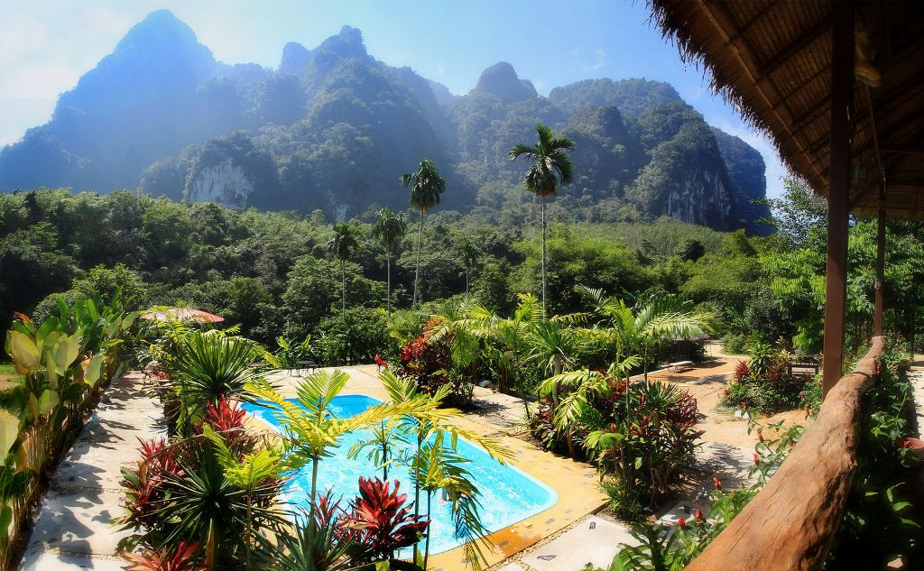 Thailanda - Elephant Hills Rainforest Camp