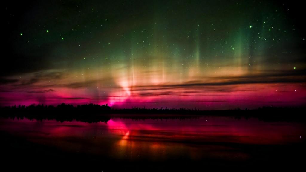 Aurora Boreala -Polul Nord