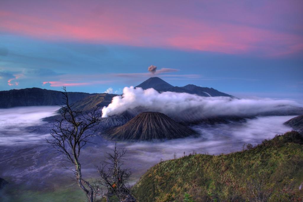 Vulcani Indonezia