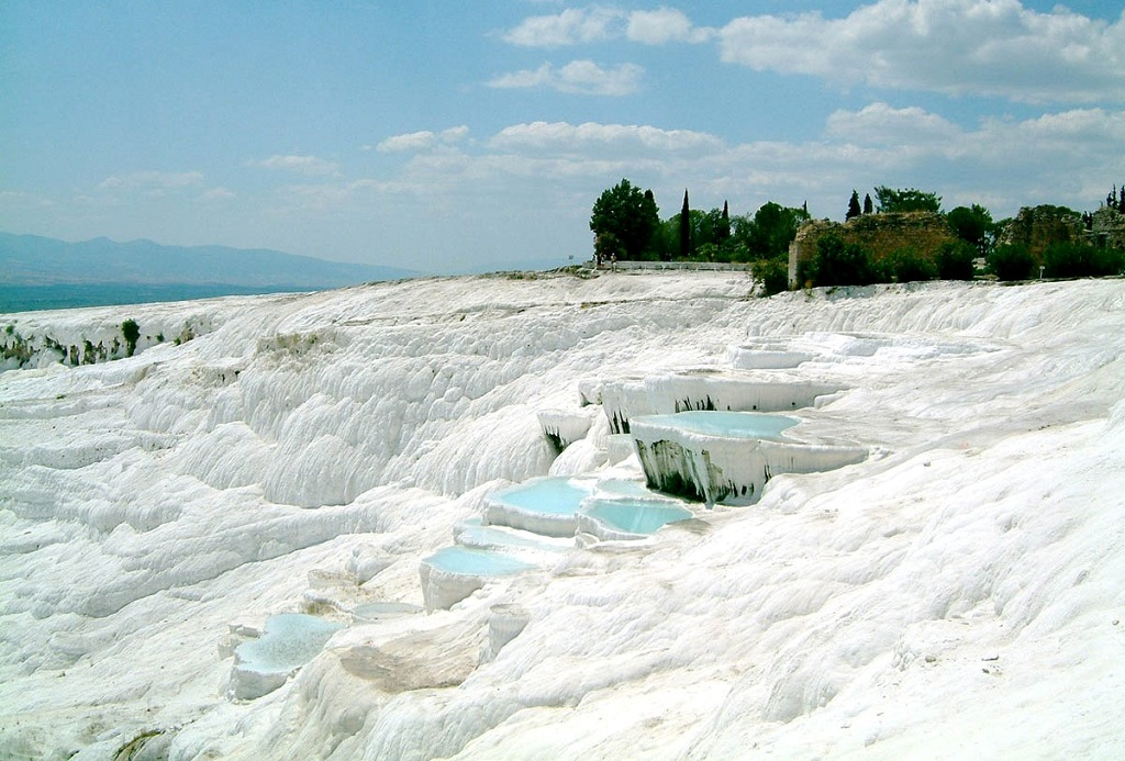 Dealul si Travertinele din Pamukkale
