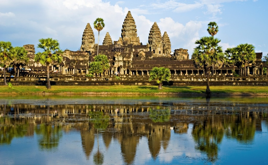 Angkor Wat before sunset, Cambodia