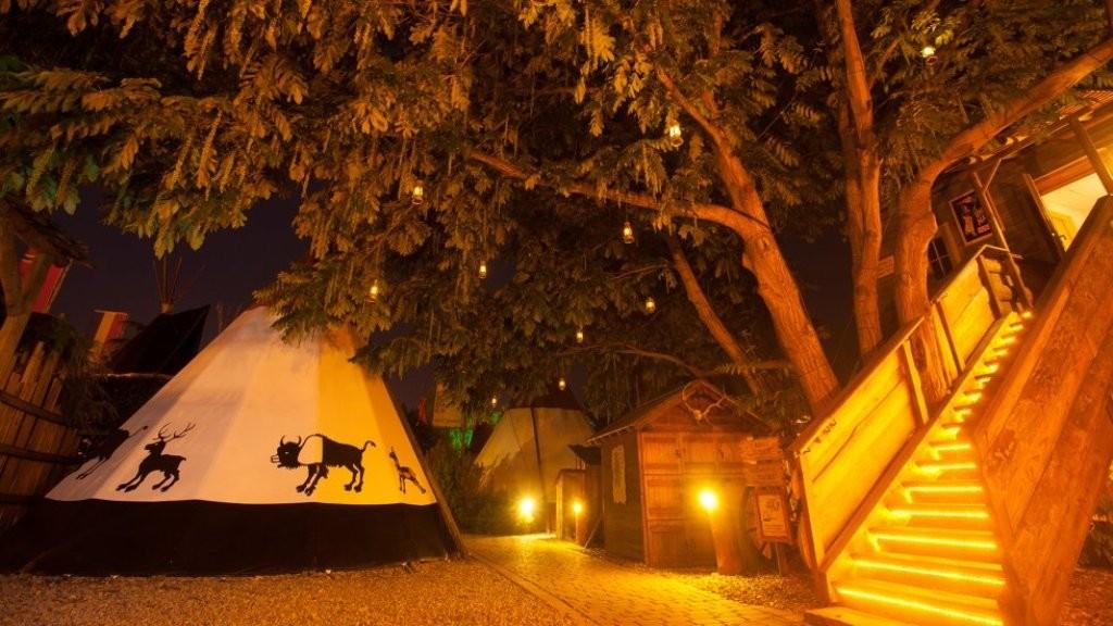 Camping vestul salbatic