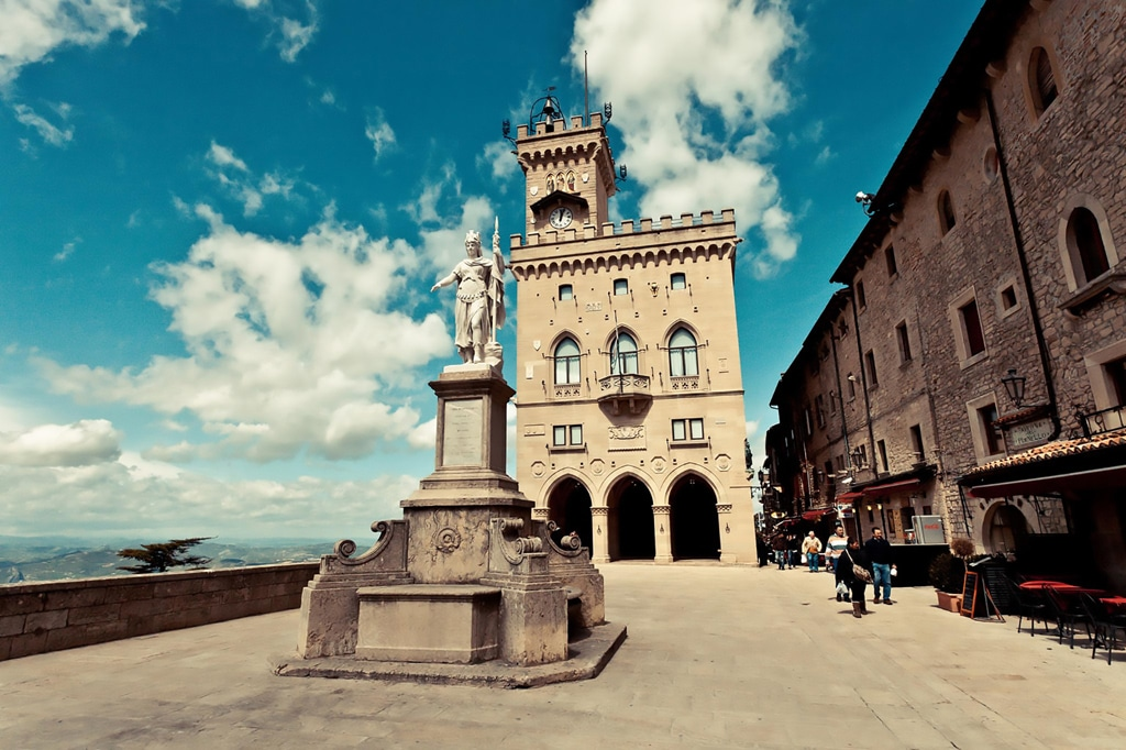 Palazzo Pubblico of San Marino