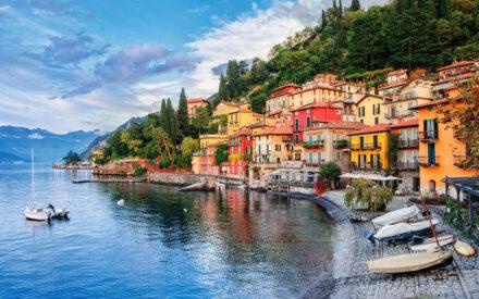 Lago di Garda din Italia