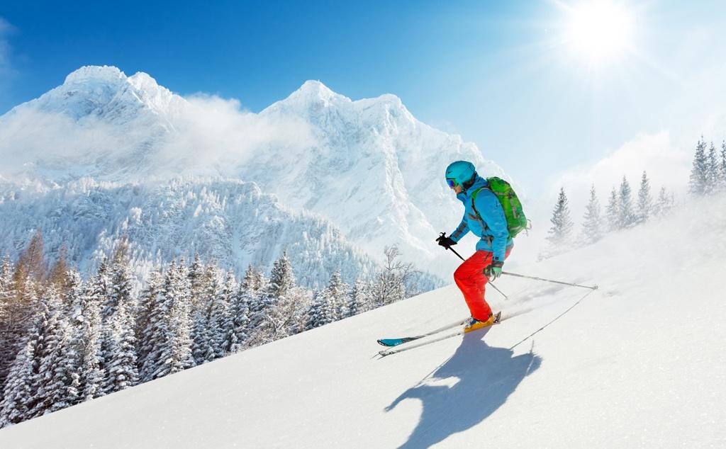 Ski in Disentis