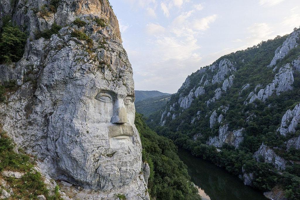 Statuia lui Decebal Dunare