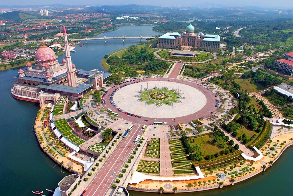 Putrajaya Roundabout Malaezia