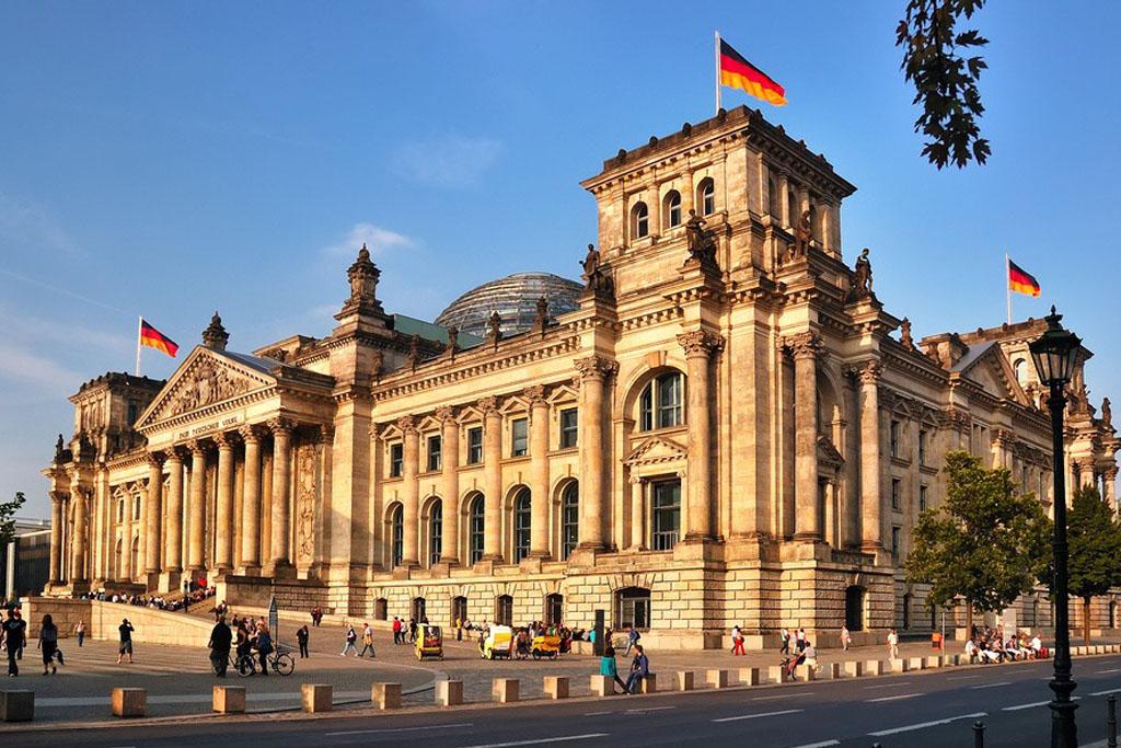 Cladirea parlamentului Reichstag