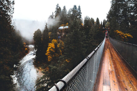 Podul suspendat din Capilano