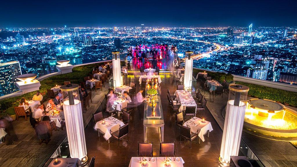 Bangkok SkyBar view