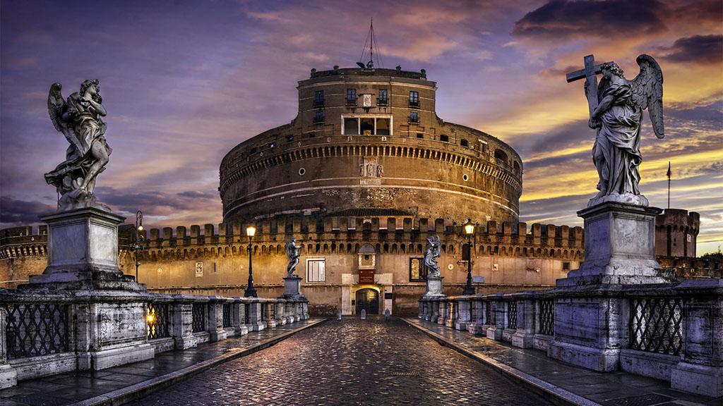 Castelul Sant'Angelo din Roma