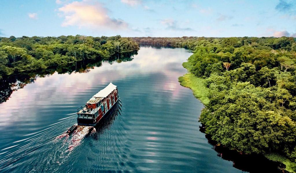 Brazilia - Croaziera Amazon