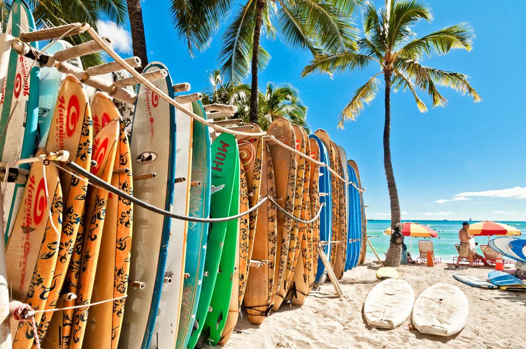 Hawaii nautic sport