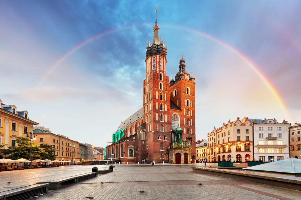 Cracovia city in Poland
