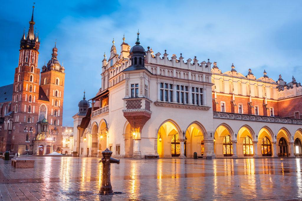 Cracovia centru oras
